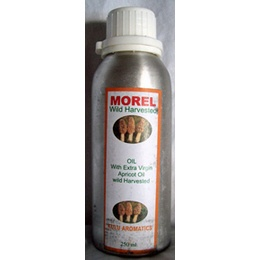 Morel/Apricot Infused Olive Oil