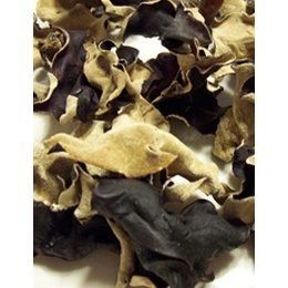 Dried Woodear Mushrooms