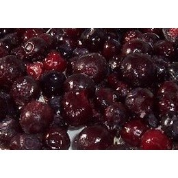 Frozen Huckleberries