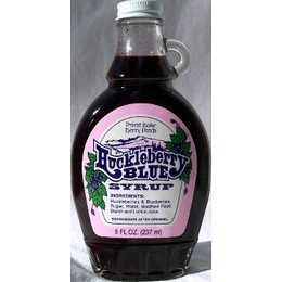 Huckleberry Blue Syrup